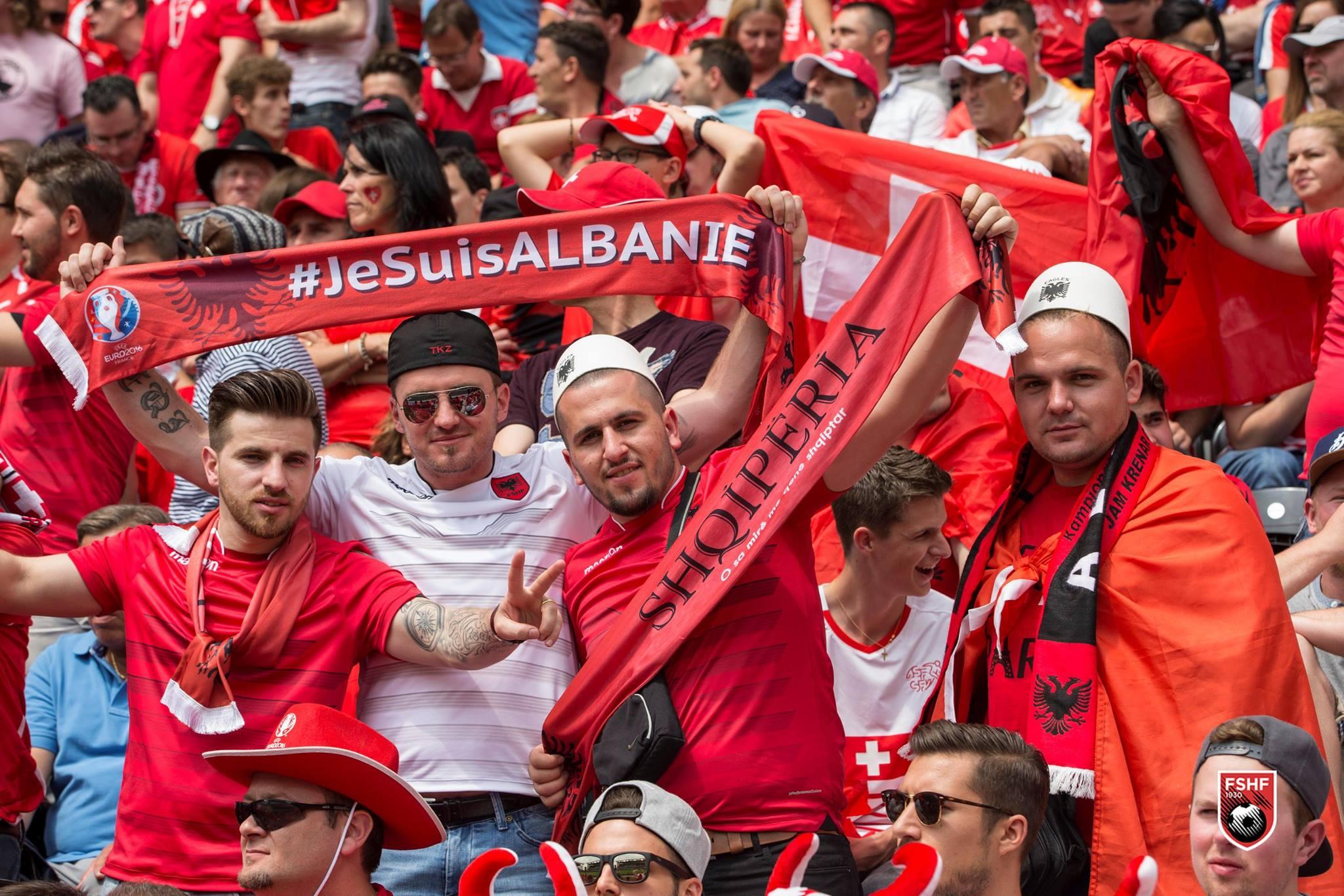 Fans Albanië