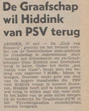 Uit het Limburgsch Dagblad (27-11-1971)