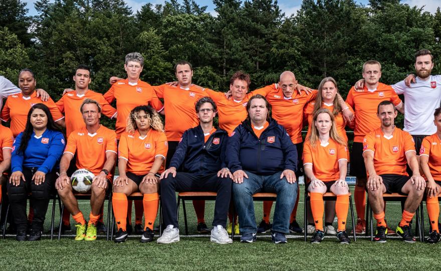 Teamfoto WK Daklozen 2019
